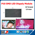 10 мм крытый SMD rgb из светодиодов дисплей 320 * 160 мм 32 * 16 пикселей p10 из светодиодов модуль крытый из светодиодов видео-дисплей p10 из светодиодов панель