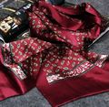 Fashion Brand  Mens 100% Silk Long Scarf  Cravat  Scarives Double Layer __For Spring Autumn Winter