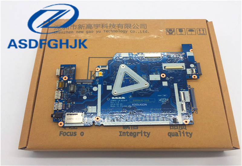 Купить с кэшбэком laptop motherboard for ACER for Aspire E5-571 E5-531 I5 CPU NBML811002 Z5WAH LA-B161P DDR3 100% WORK PERFECTLY