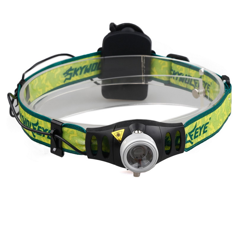 LED outdoor headlights XPe led strong bald Light AAA Battery without battery