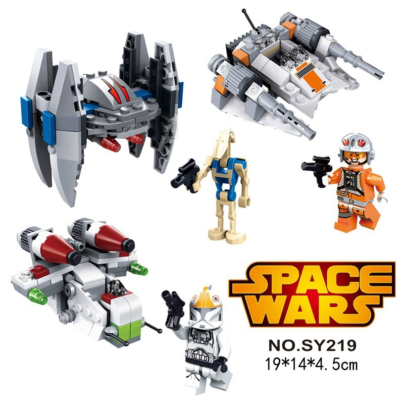 Aliexpress.com : Buy SY219 Space Star Wars Blocks Bricks