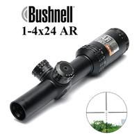 BUSHNELL 1 4x24 AR Optics Drop Zone 223 Reticle Tactical Riflescope With Target Turrets Hunting Scopes For Sniper Rifle