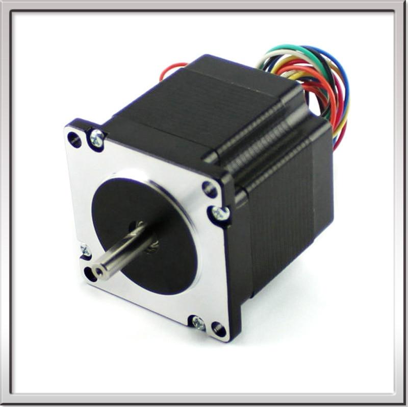 все цены на Free shipping 0.9 degree 57mm 2 Phase Hybrid Stepper Motor , 8W 3.2V NEMA23 57HM76-2804 Universal Motor with CE certification онлайн