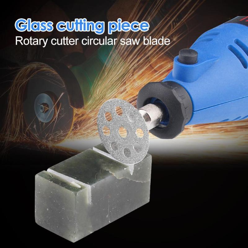 12pcs/set Rotary Tool Circular Saw Blades Diamond Jade Cutting Wheel Discs