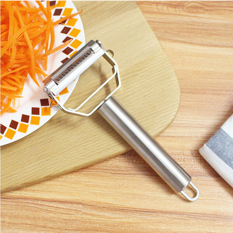 Accessori Per La Cucina Strumenti Di Cottura Multifunzione In Acciaio Inox Peeler Di Verdure Doppio Progettazione Grattugia 1 Pz Ba Distintivo Per Le Sue Proprietà Tradizionali