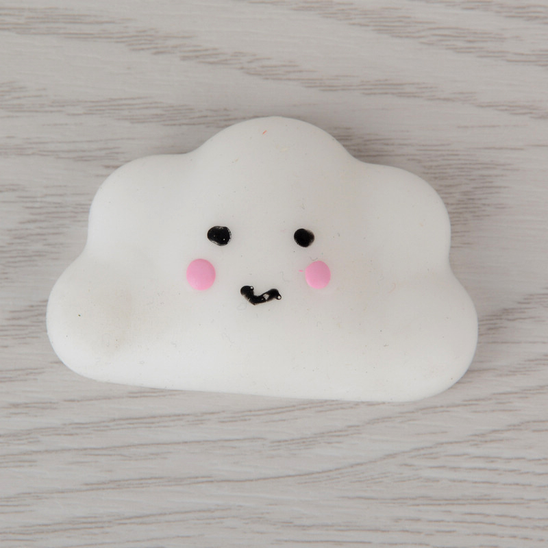 Mobile Phone Accessories Beautiful 3pcs Kid Toy Hobbie Gift Soft Ushihito Kawaii Cute Squishy Press Slow Rising Mini Small Cloud Squeeze Phone Straps Bread Cake Cellphones & Telecommunications