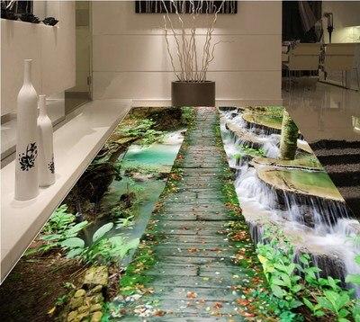 Large Size 200cm X 300cm Vertical 3D Printing Carpet Hallway Doormat Anti-Slip Rug Bathroom Carpets Absorb Water Kitchen