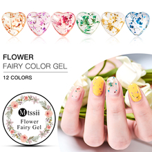 Mtssii 5ml Floral Uv Gel Varnish beautiful Dried Flowers DIY Nail Art Natural Fairy Soak Off Polish