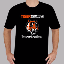 Tiger Muay Thai MMA Logo Tinju S T-shirt Ukuran S 3XL(China)