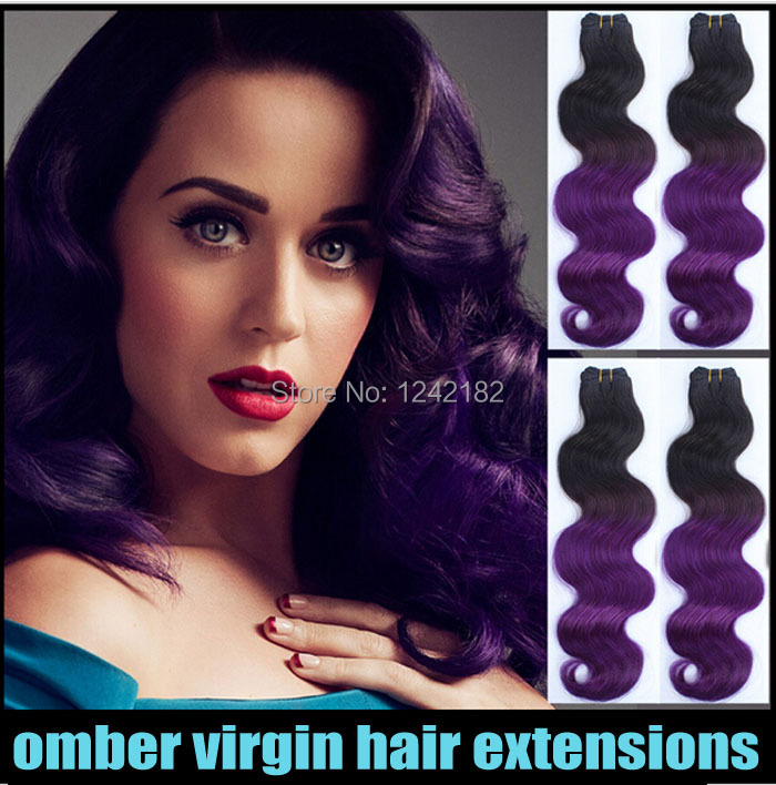 Hair extensions milky way picture more detailed picture about star style hair brazilian body wave human weave hair two tone ombre hair extensions 1b pmusecretfo Gallery