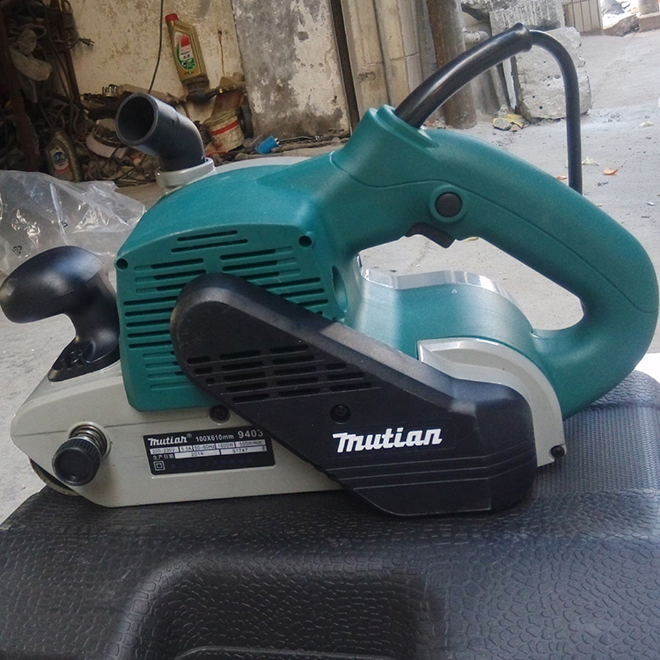 metal sander machine