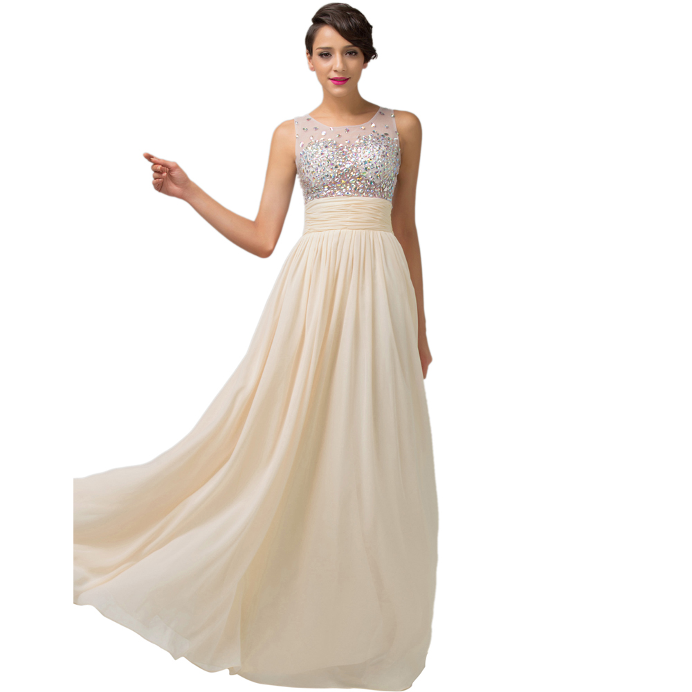 Aliexpress buy fast deliver long prom dresses 2016 aliexpress buy fast deliver long prom dresses 2016 sleeveless chiffon ombre bridesmaid dress ballkleider grace karin sequin prom gowns from reliable ombrellifo Images