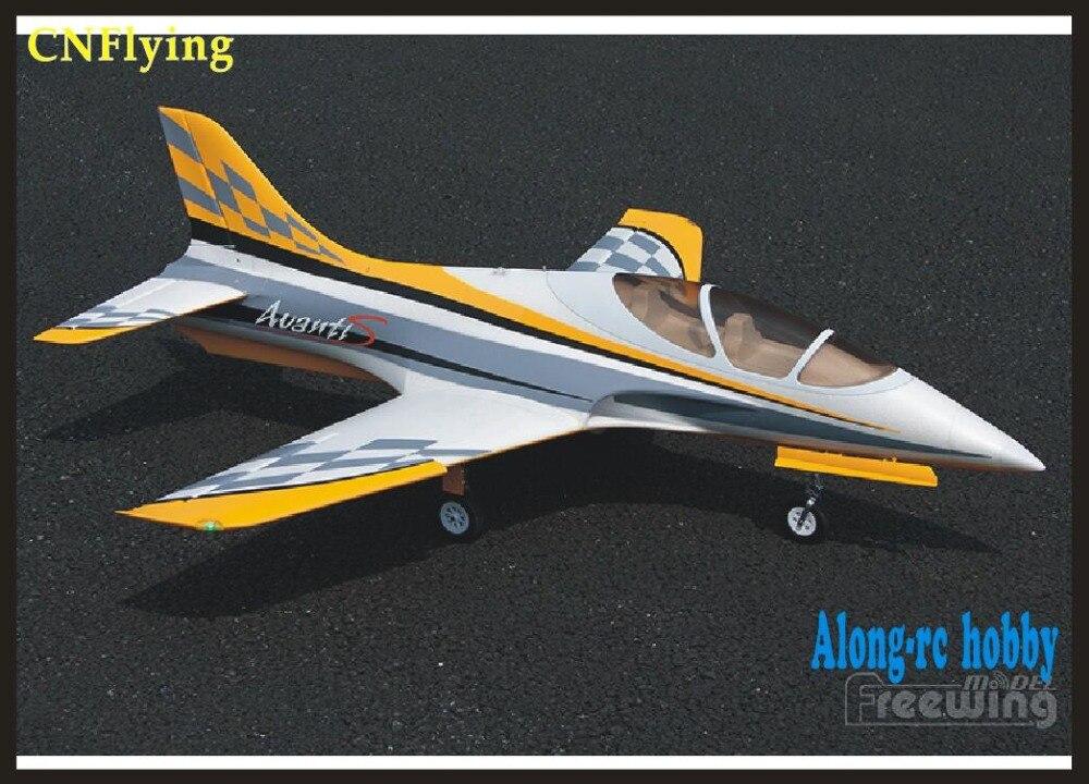 Oyuncaklar ve Hobi Ürünleri'ten RC Uçaklar'de RC Model Freewing Yeni EPO RC Uçak Avanti S 80mm EDF Jet uçağı 80mm metal edf uçak 6 s PNP veya kiti + S Geri Çekilebilir uçak'da  Grup 1