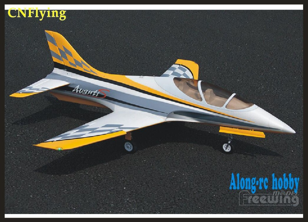 RC Model Freewing nowy EPO samolot na radio obsługi Avanti S 80mm EDF Jet 80mm metalowego edf samolot 6 s PNP lub zestaw + S chowany samolot w Samoloty RC od Zabawki i hobby na  Grupa 1