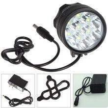 Bicycle Light 10000Lumen 7 *CREE XM-L T6 LED Bike Light Super bright Bike LED Bicycle Lamp Light HeadLight+10000mah battery Pack