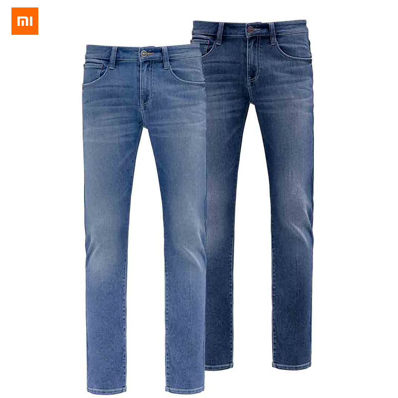 New Xiaomi Mijia Youpin 90 point COOLMAX Slim straight jeans High elastic fabric cool and dry