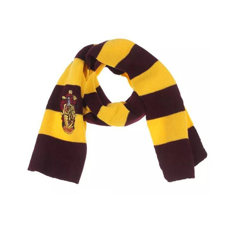 Gryffindor Slytherin Ravenclaw Hufflepuff Adult Or Kid Winter Long Cotton Scarf  Warm Boy And Girl Neckerchief Autumn