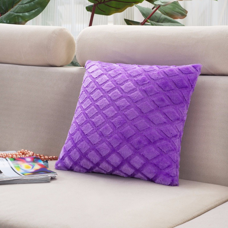 43cmx43cm Plush Pillowcase Comfortable Throw Wedding Cushion Pillow Case  Cover Shape Rhombus Home Hot - us269 706c006e21