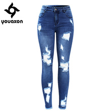 ZHISILAO 2018 Denim Pants Jeans Harem Pants Trousers Woman Pantalon Mujer High Waist