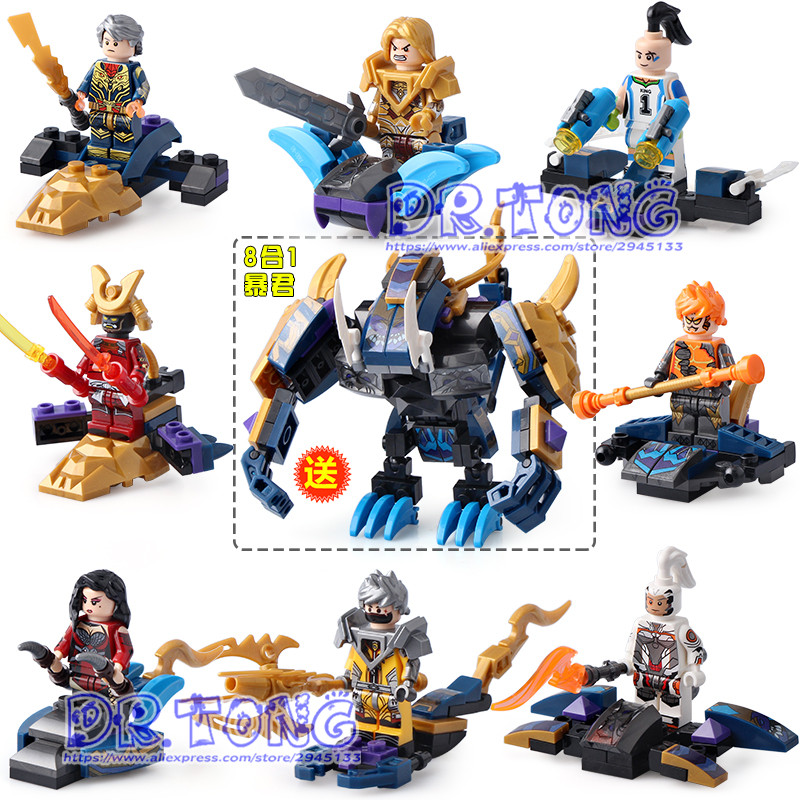 DR TONG 80PCS/LOT Ly69005 New King of Glory Enlighten Figures One of China Romance Knight Heroes Building Blocks Bricks Toys dipti joshi dr kala suhas kulkarni and dr kishori apte anticancer activity of casearia esculenta in experimental models