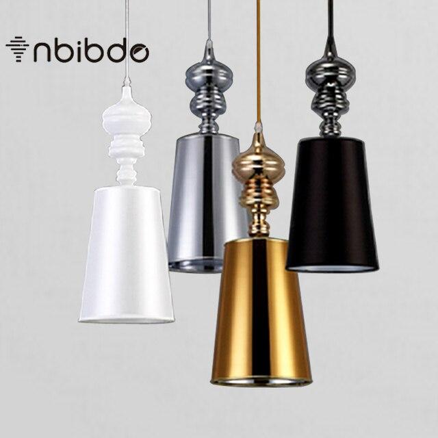 Moderne Korte Hanglampen Eetkamer Hanglampen Wit/Zwart/Gouden ...