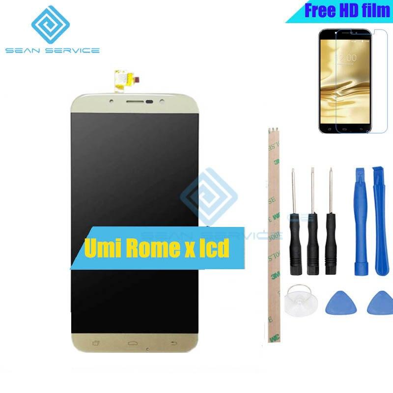 Pour UMi Rome Rome X D'origine LCD Affichage et Écran Tactile Digitizer Assemblée 5.5 pouce Umi ROME X LCD + tactile stock