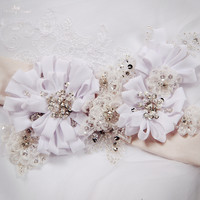 RSS11 Flower Belts For Wedding Dresses