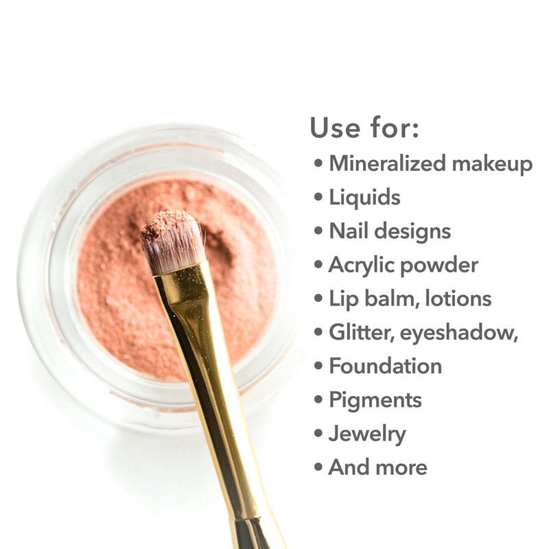 100pcs 2g/3g/5g/10g/15g/20g Empty Plastic Cosmetic Makeup Jar Pots Transparent Sample Bottles Eyeshadow Cream Lip Balm Container-1
