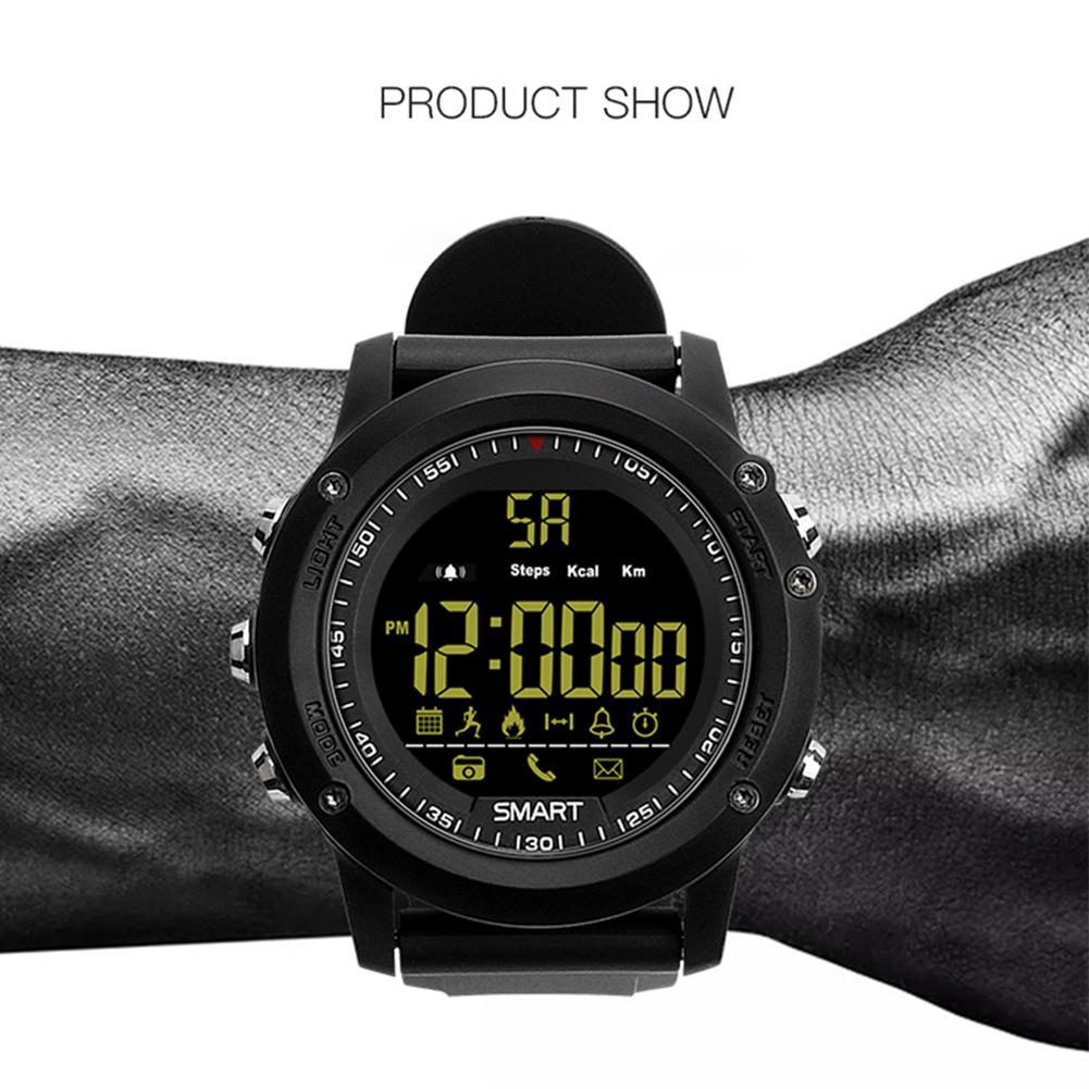 2018 New Version Ex17 Smartwatch Ip67 Waterproof Pedometer Stopwatch Jam Tangan 8gb Spy Cam Watch Camera Sport Fitness Tracker Sports With Call And Sms Reminding In Smart Watches From Consumer