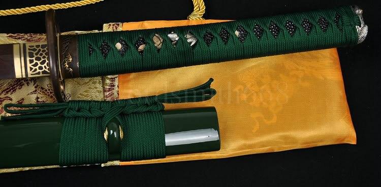 Əllə hazırlanmış Tam Tang Yapon Samurai Katana Dadlı Ev Dekor - Ev dekoru - Fotoqrafiya 4