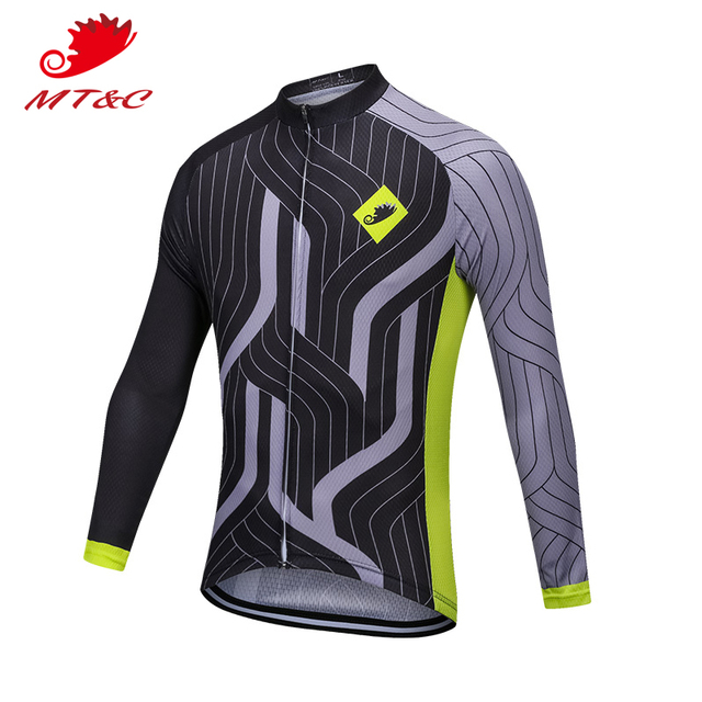 25e342a17 MT C Men Cycling Jersey Black Power Sport Style Breathable Clothes Quick  Dry Bicycle Spring Autumn Sportswear Bike Clothes