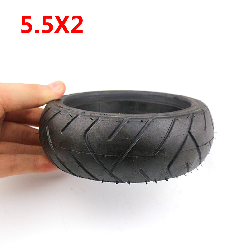 5.5X2 Inch Explosion Proof Tire Fastwheel F0 Rear Wheel Solid Tire  For Jackhot Carbon Fiber Scooter Fastwheel F0 Electric Scoot