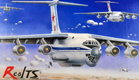 RealTS trumpeter model 03901 1/144 IL 76 Transport plastic model kit