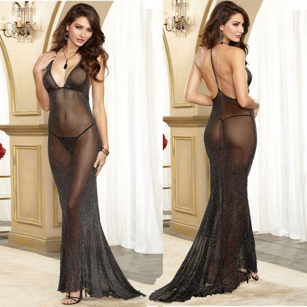 Plus Size Porn Women Hot Costumes Sexy Dress Underwear Black Erotic Lingerie Lace Transparent Exotic Dancewear Elegant Sleepwear