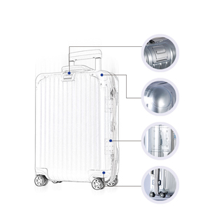 Image 3 - Transparante Bagage Cover Voor Rimowa Rits Reizen Koffer Cover Reizen Accessoires Clear Bagage Protector Cover voor Rimowa