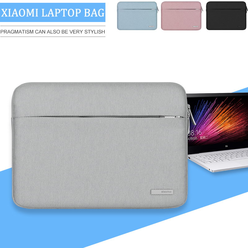 Women Laptop Bag Sleeve for Xiaomi air 12 13 New Notebook Carrying Case Handbag with Pocket Soild Zipper 12.5 13.3 Inch Cover
