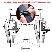 Пара автомобильных ремней безопасности, зажим для ремня безопасности, ремень безопасности, пряжка, регулятор эластичности ремня, крепежный зажим, аксессуары для автомобиля