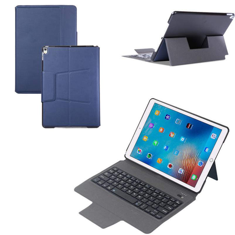 все цены на  Thin Leather Bluetooth Smart Case With Keyboard Cover Wake For ipad Pro 10.5 Drop shipping JUL26  онлайн