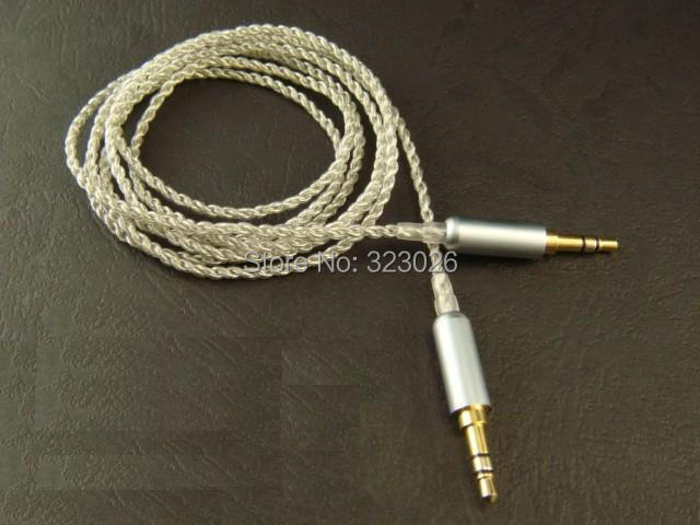 diy wire for record Silver plated Single crystal copper record cable Pure handmade