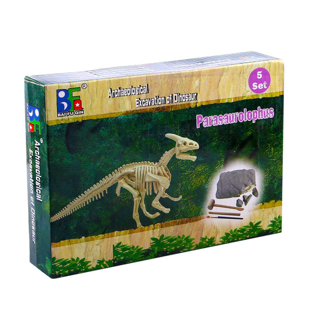 Parasaurolophus Trẻ Sáng Tạo Giáo Dục Khủng Long Archaeology Khai Quật Khoa Học Lịch Sử Giáo Dục Đồ Chơi Dành Cho Trẻ Em