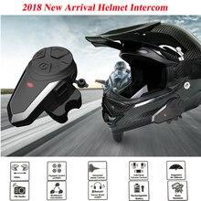 1 шт. BT-S3 водонепроницаемый мотоциклетный мото беспроводной Bluetooth домофон гарнитура с FM шлем домофон