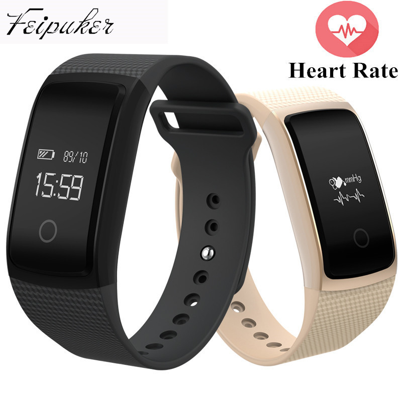 Smart Wristband A09 Bracelet Heart Rate Monitor 2017 New Fitness Tracker Blood Pressure Smart Band For