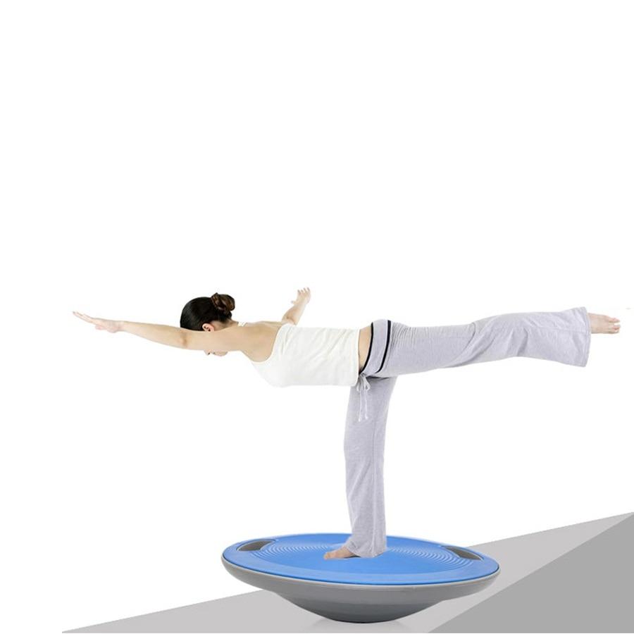 Balance Board Knee Stability: 40cm Yoga Sport Wobble Balance Board ABS Non Slip Balance