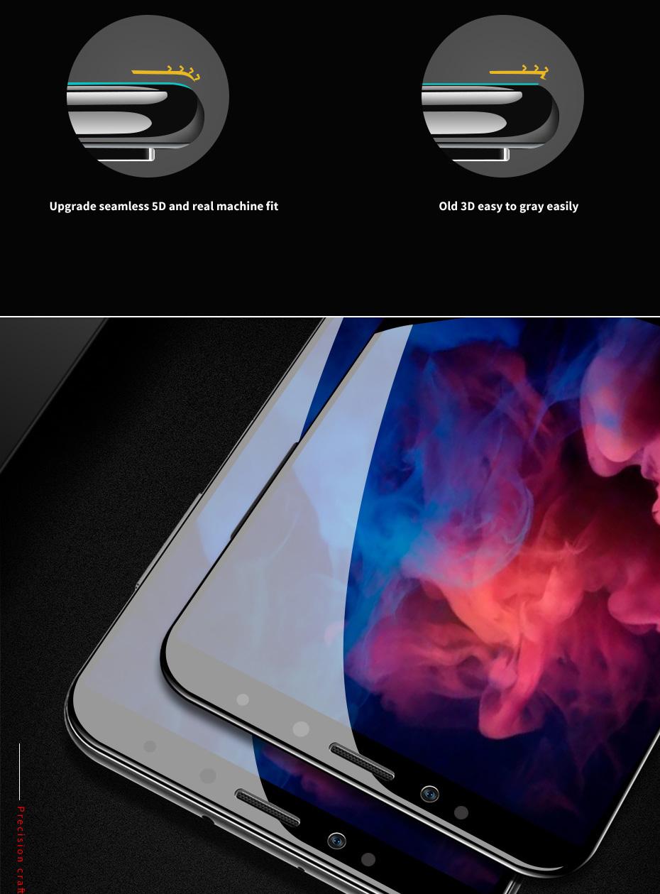 ZNP 5D Screen Protector Tempered Glass For Xiaomi Redmi Note 7 5 Pro Redmi 4X 7A 7 6 Protective Glass For Redmi 5 Plus k20 Film 5