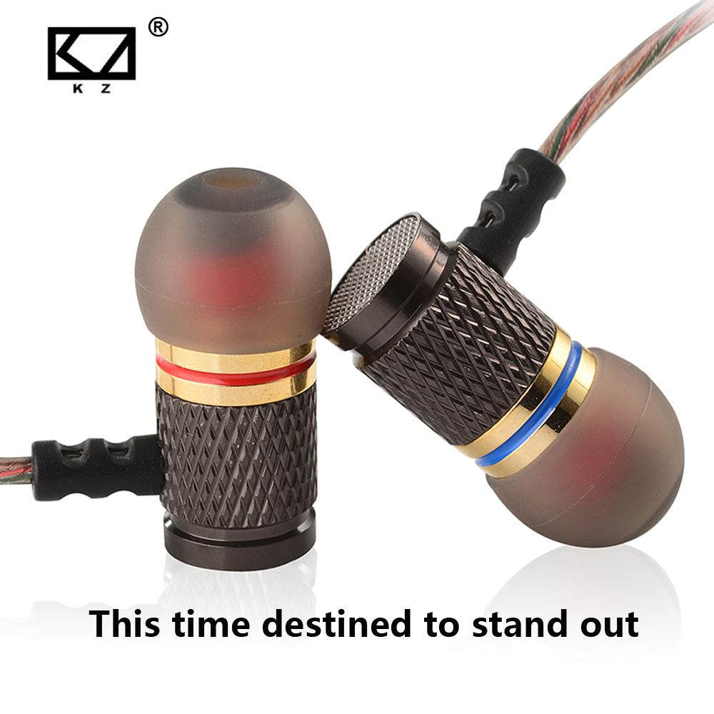 KZ-ED2 EDR1 EDR2 In-Ear Earphone Metal Heavy Bass Sound Quality Music Earphone Sport Earphone Headset Fone De Ouvido
