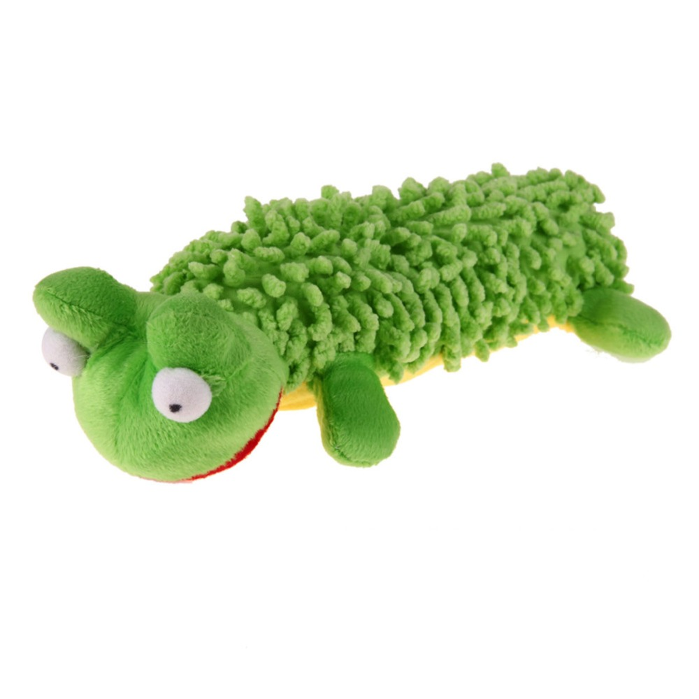 Pet Dog Funny Playing Toy Cat Lovely Voice Toys Sound Squeaky Plush Soft Cuddly Puppy  Interactive Chew