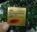 2 Pcs/Lot  2680mah replacement Gold battery for Samsung GALAXY S i9000 i897 i9003 i9088 I9010 I9001 Golden batteries batria