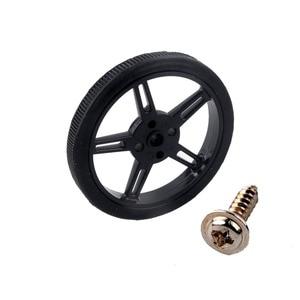Image 4 - 4Pcs Feetech FS90R RC Servo, 360 Degree Continuous Rotation Micro Servo Motor +4Pcs Wheel Tire For Robot RC Car Drones Smart Car