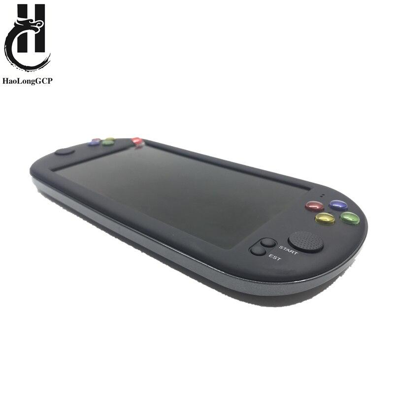 Mais novo 7 Polegada console do jogo suporte portátil para neogeo jogos de vídeo arcade com 1500 livre retro mini jogo 8 bit 16/32 bit console
