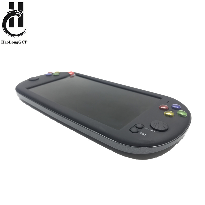 Newest 7 Inch Game Console Portable support for neogeo arcade video games with 1500 free retro mini game 8 bit 16/32 bit console image